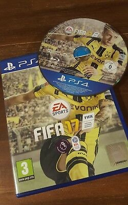 FIFA 17 PS4 PLAYSTATION 4 GAME - Excellent - 1st Class Delivery