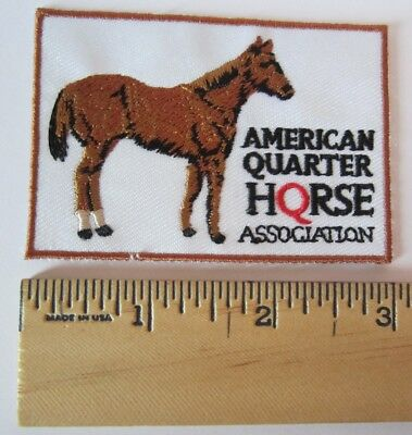 American Quarter Horse Association Patch for Jacket, Shirt, Hat - Equestrian