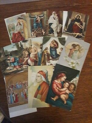 "Selection Of 27 Various "" Religious ""  Postcard ,see Pictures ,"