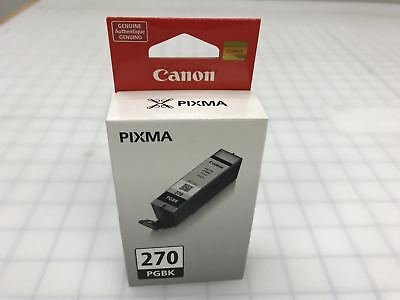 Genuine Canon PGI-270 270 PGBK Black Ink Cartridge for MG7720 MG5721