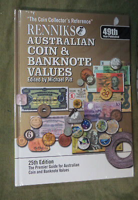 #BB.  RENNIKS AUSTRALIAN  COIN & BANKNOTE CATALOGUE, 25th EDITION, ABOUT 2010