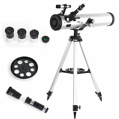 New 700-76 Reflector Astronomical Telescope Performance White UK FAST DELIVERY