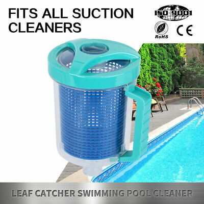 Leaf Catcher Canister Vacuum Suction Above Below Ground Swimming Pool Cleaner