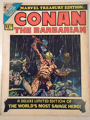 Conan The Barbarian Treasury Edition 4 Barry Smith Art Giant Size Red Nails Reh