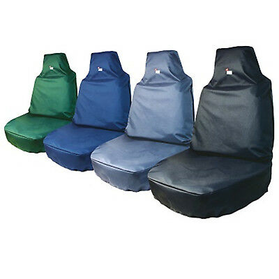 Tough Covers Extra Strong Waterproof Vehicle Seat Cover for Cars, Vans, Tractors