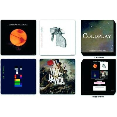 Coldplay - Album Sleeve Coaster Set - New & Official In Box