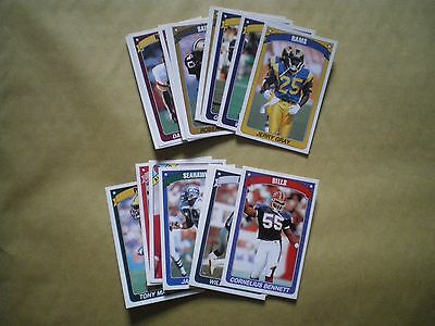Collection Of Panini American Football 90/91 Stickers