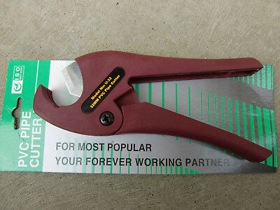 PVC PPR Conduit Poly Plastic Pipe Cutters Plumbing Tube Scissors 32mm