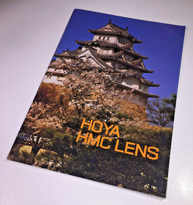 The sales brochure for the Hoya HMC lens range from the late 1970s