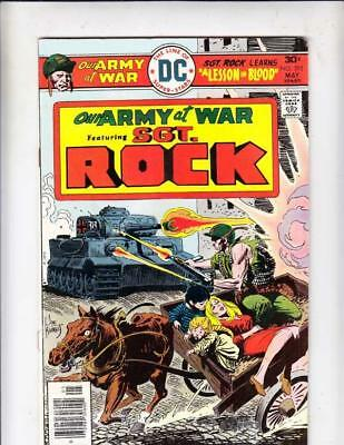 Our Army at War # 292 strict VG/FN artist Frank Redondo, Ric Estrada