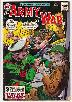 Our Army at War 138   strict  VG+ 4.5 Affordable-Grade  Sgt Rock Easy Co 1964