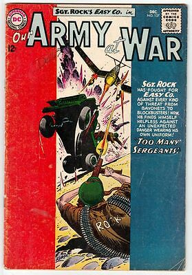 Our Army at War 137 Sgt Rock  strict VG/FN 5.0 Mid-Grade   Many War books up now