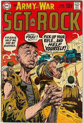Our Army at War #207 Sgt. Rock strict VF 8.0 High-Grade  Appear- Easy Co   Boca