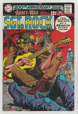 Our Army at War #200 Sgt Rock strict FN/VF 7.0 High-Grade  Many more up now