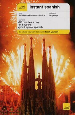 Teach Yourself Instant Spanish - Third Edition ... by Smith, Elisabeth Paperback