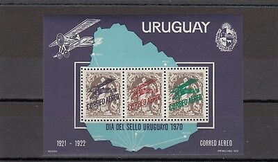 a111 - URUGUAY - SGMS1438 MNH 1970 STAMP DAY