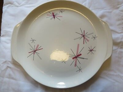 Salem Pink Martinique Platter AKA Pink Hop Scotch 13.25""
