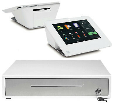 Clover Mini Credit Card Machine with Cash Drawer (as low as 0.1% + 0.03$) POS