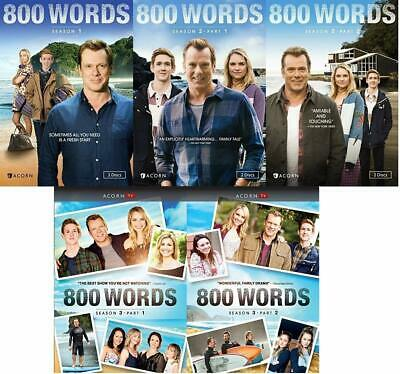 800 Words Complete TV Series Season 1-3 (1 2 & 3) BRAND NEW DVD BUNDLE SET