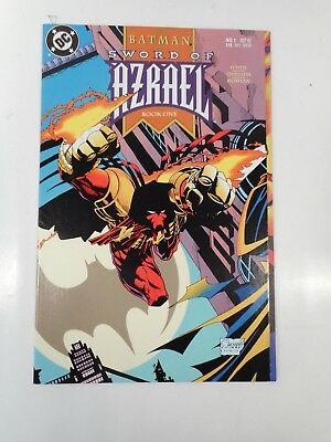 DC COMICS BATMAN SWORD OF AZRAEL #1 KEY ISSUE 1st APP AZRAEL GATEFOLD/WRAP COVER