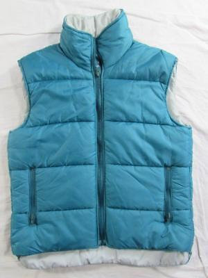 Vtg 70s 80s REI USA Made Poly Fill Vest Puffer Puffy Sz Small Nice Shape!