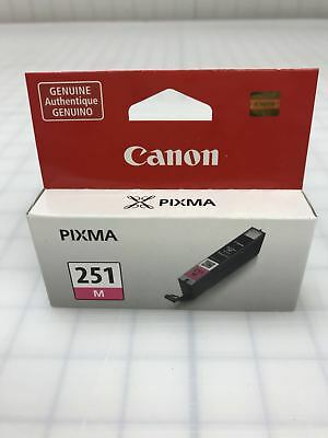 Genuine Canon CLI-251M CLI251M Magenta Ink Cartridge for ip7220 ip8720 ix6820