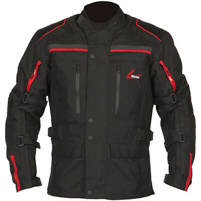 Weise Atlanta Motorcycle Jacket Brand New Discounted All Size Black Red Xl 48