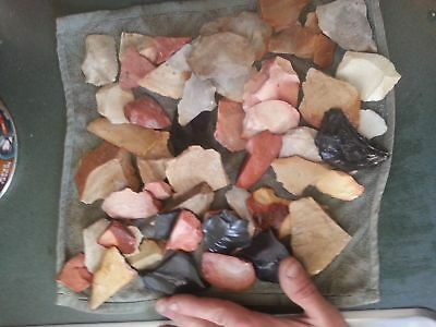 Small Flat Rate Box FLINT for Knapping Arrowheads Arts & Crafts Stone Axe
