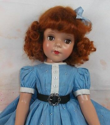 """AMERICAN CHARACTER pre-Sweet Sue 18"""" Composition RARER doll amber sleep eyes"""