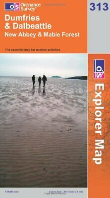 Dumfries and Dalbeattie (OS Explorer Map... by Ordnance Survey Sheet map, folded