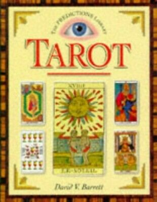 Tarot by Barrett, David V. Hardback Book The Cheap Fast Free Post