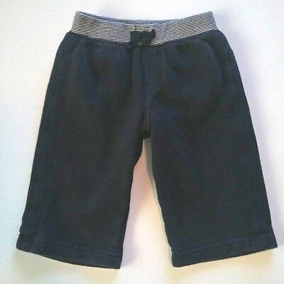 Baby Gap Boys Navy Blue Cotton Pull On Lounge Pants Size 12-18 Months