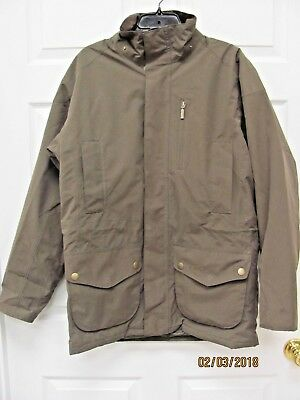 Barbour Linton Jacket Waterproof Breathable Insulated  Washable Men's M