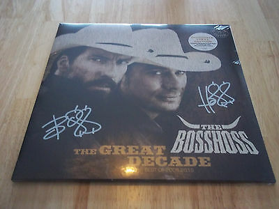THE BOSSHOSS VINYL LP - Signierte Exclusive Edition - THE GREAT DECADE Best of