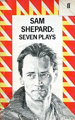 Seven Plays by Shepard, Sam Paperback Book The Cheap Fast Free Post