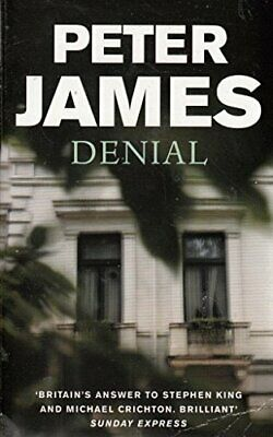 Denial by Peter James Book The Cheap Fast Free Post