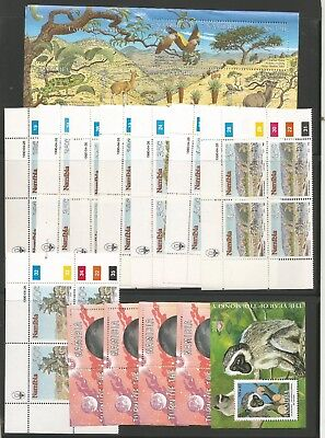 Namibia ,4 Pages 1990S , Full Sheets , Min Sheets Etc