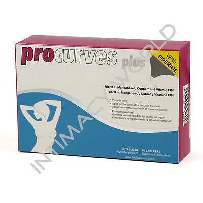 Procurves Plus With Piperine Breast Enhancement Enhancer Firmer Shape 60 Pills