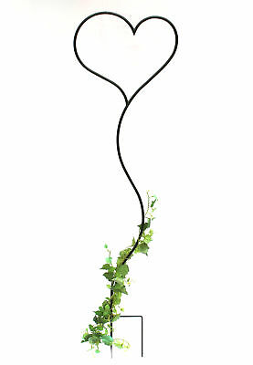 DanDiBo Trellis Heart Climbing plant support made from metal 147 cm Stake Plant