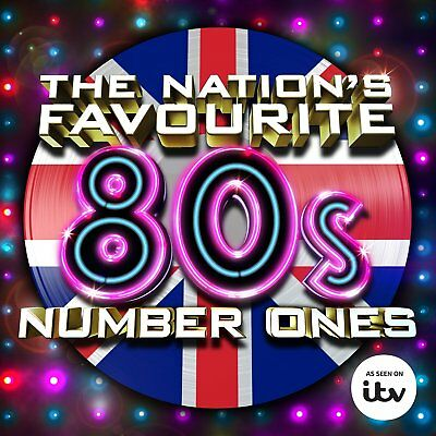 Various Artists - The Nation's Favourite 80's Number Ones 3Cd Set (2015)