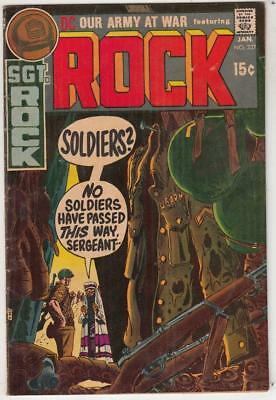 Our Army at War # 227 strict FN/VF+ artist Russ Heath