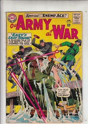 Our Army at War # 153 strict VG appearance 2nd Enemy Ace!