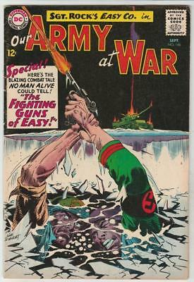 Our Army at War # 146 strict FN/VF artist Joe Kubert