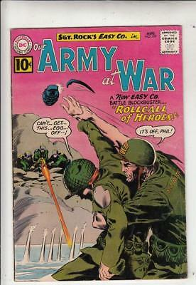 Our Army at War # 109 strict FN/VF artist Kubert and Abel!