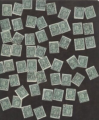 Stamps Canada # 163, 1¢, 1930, lot of 100 used stamps.