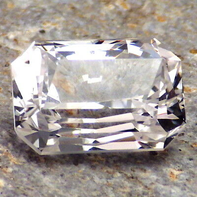 DANBURITE-MEXICO 5.45Ct FLAWLESS-FACETED IN EU-ANGEL CRYSTAL-FOR TOP JEWELRY!