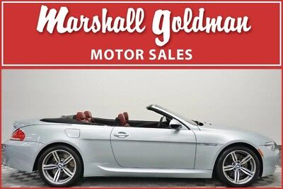 2010 BMW M6 Base Convertible 2-Door 2010 BMW M6 cabriolet  Silverstone Metallic w/Indianapolis Red only 30,076 miles