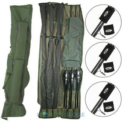 Rod Holdall Carp Fishing Bag 3 + 3 12ft Rods and Reels WITH 3 ROD BANDS NGT