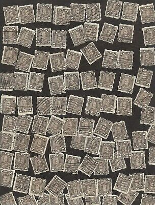 Stamps Canada # 166, 2¢, 1931, Lot of 100 used stamps.