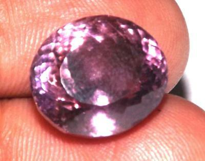 13.15 cts Natural Earth Mined Amethyst 14 x 12 mm Gemstone #eam1534